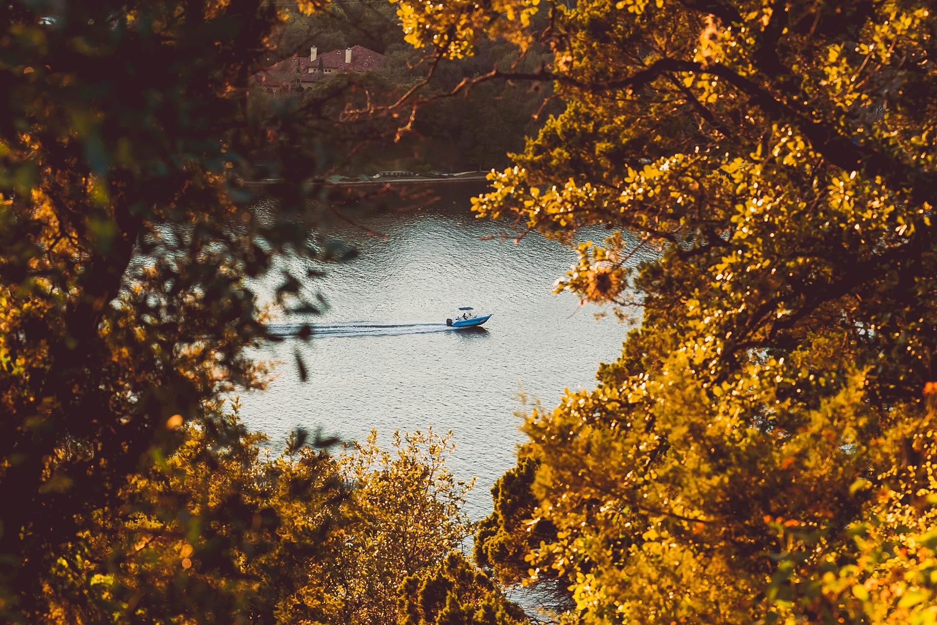 Lake Austin no outono